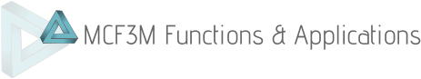 MCF3M Functions & Applications